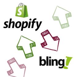 integração bling shopify erp e-commerce